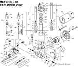 Pictures of Effluent Pumps Parts