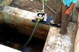 Effluent Pumps Work Images