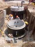 Sewage Pump Grinder Station