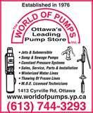 Photos of Sewage Pumps Ottawa