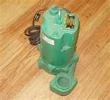 Images of Myers Sewage Pump