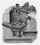 Photos of Sewage Pump Installation