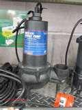 Pictures of Can You Use A Sewage Pump For A Sump Pump