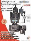 Sewage Pump Model 400500